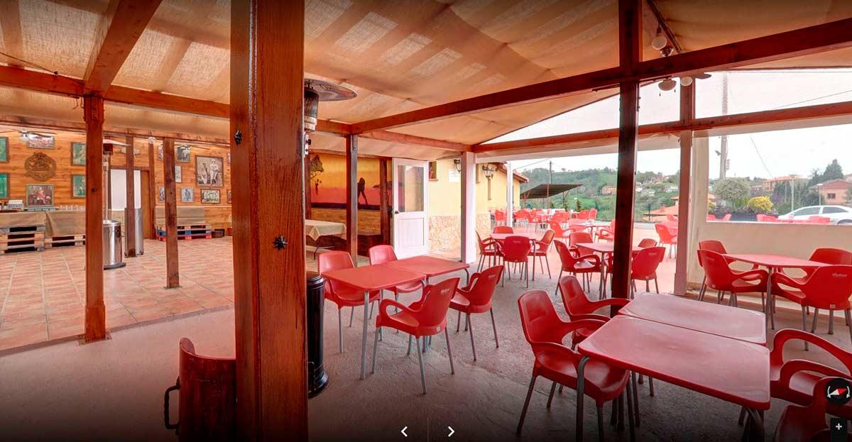 La Llariega Visita virtual 360 de la terraza
