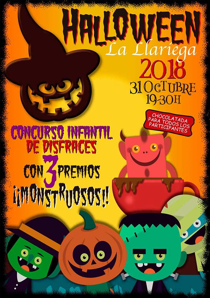 Halloween 2018 Fiesta Infantil cartel