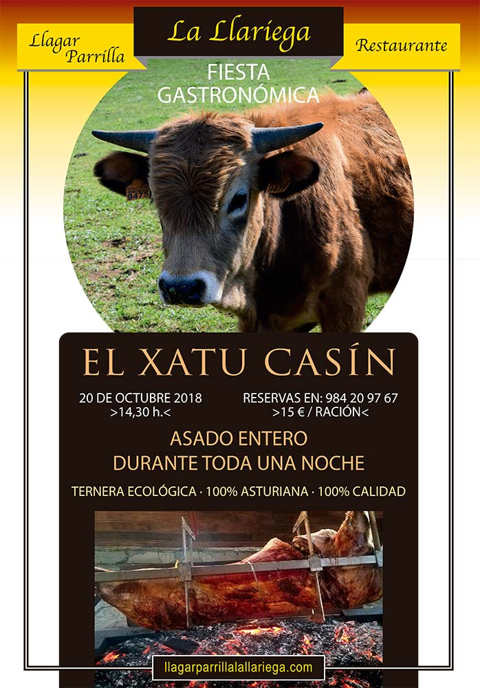 Xatu Casin 2018, segubdas jornadas, cartel.