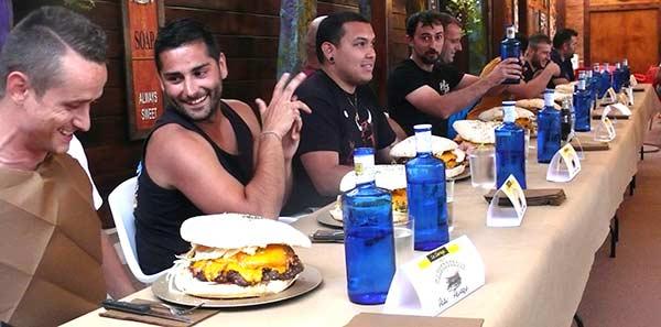 hamburgueson la llariega, vista general de participantes