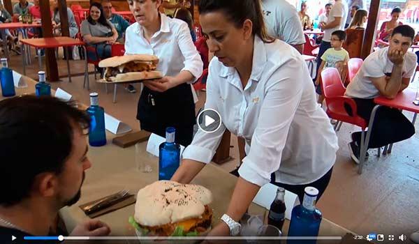 hamburgueson, imagen video, el desafío