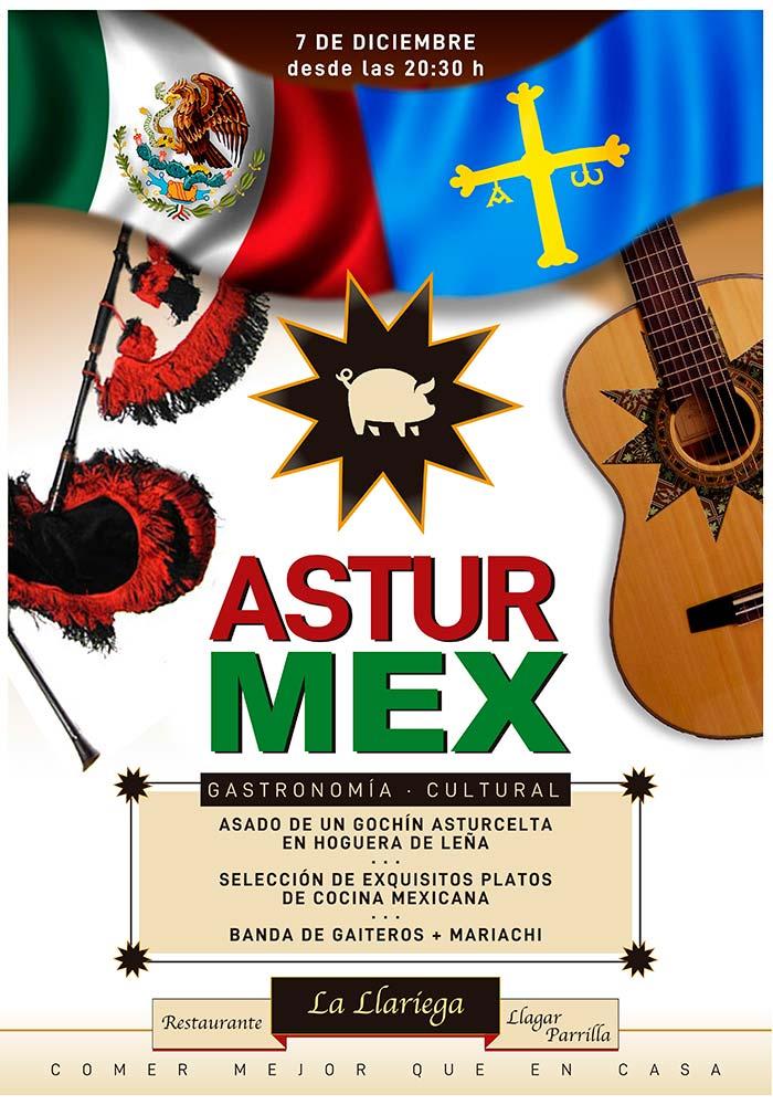 Fiesta Astur Mexicana La Llariega